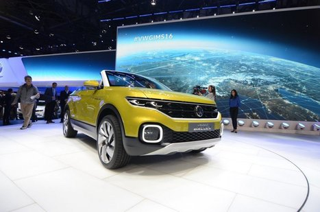 Geneva 2016: Volkswagen T-Cross Breeze - GTspirit | SJB Autotech News | Scoop.it