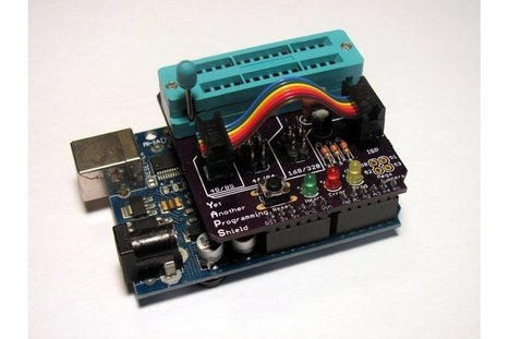 Yet Another Programming Shield by Makersbox | Open Source Hardware News | Scoop.it