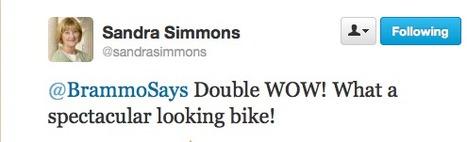 Twitter / sandrasimmons: @BrammoSays Double WOW! What ... | Fan Power! | Scoop.it