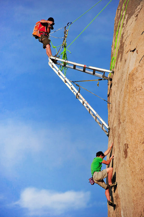 Interesting Photo of the Day: The Truth Behind Rock Climber Photos | xposing world of Photography & Design | Scoop.it