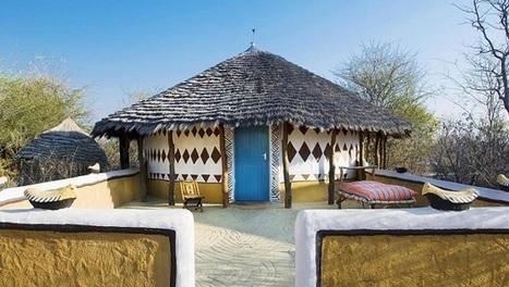 Hutte traditionelle du Bostwana : Bakalanga   I love it !   Scoop.it