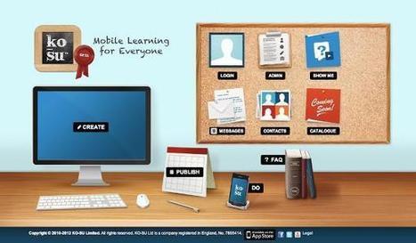 KO-SU: Inovação em mobile learning   #Inovação #Empreendedorismo #Gestão   Scoop.it