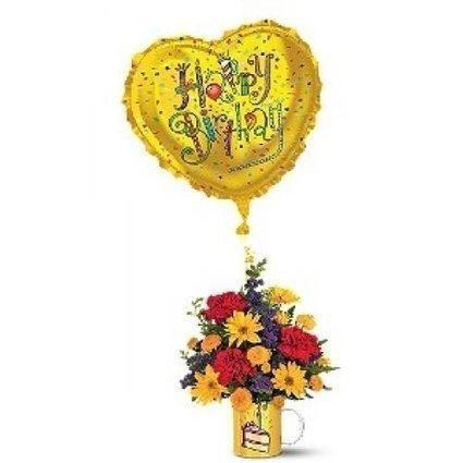 Birthday Surprise Bouquet | buffalo florist | Scoop.it