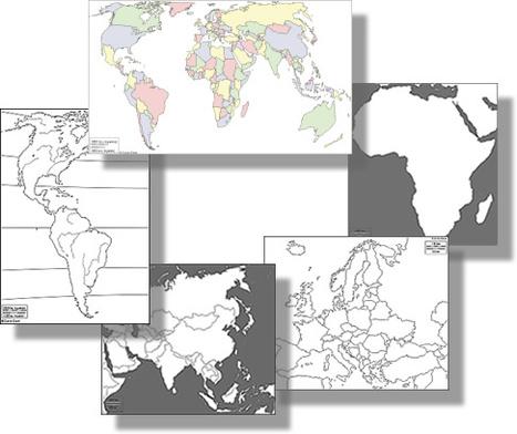 d-maps.com : free maps, free blank maps, free outline maps, free base maps | Enseñar Geografía e Historia en Secundaria | Scoop.it