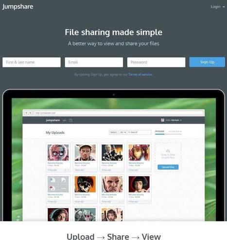 Partage et visualisation de documents depuis un navigateur Web, Jumpshare | Les Infos de Ballajack | Au fil du Web | Scoop.it