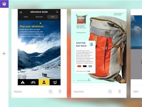 Adobe Comp, une app pour les maquettistes et designers | com digitale | Scoop.it