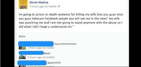 Mata a su mujer, lo confiesa en Facebook y cuelga la foto del cadáver - eleconomistaamerica.com   WTF   Scoop.it