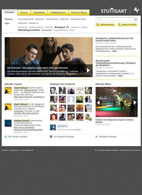 Landeshauptstadt Stuttgart Newsroom | Social Media Newsrooms | Scoop.it