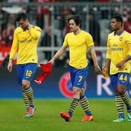 Bayern Munich 1-1 Arsenal (agg 3-1): Arsene Wenger's team knocked out of ... - Belfast Telegraph | Coaching the 4-2-3-1 | Scoop.it