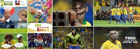 La compile des meilleures images de la coupe du monde 2014   Humour et pub détounée   Scoop.it