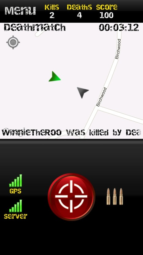 MobileWar – turn your phone into a virtual laser tag game! | Android Apps | Scoop.it