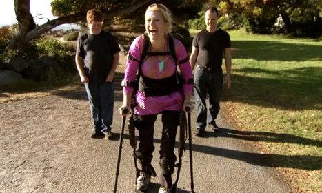Un nouvel exosquelette permet aux personnes paraplégiques de remarcher presque normalement | Homme augmenté (Nanotechnologies) | Scoop.it