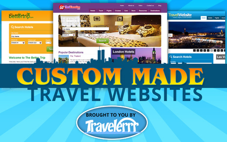Custom Made Travel Website Design - Travelerrr.com | Travel Site Features | Scoop.it