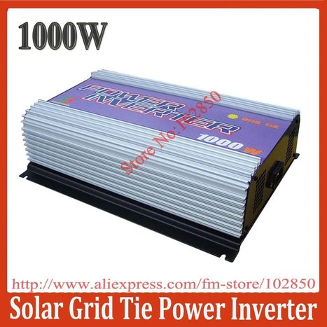 Aliexpress.com : Buy 1000W Grid Tie Solar Power System Inverter,MPPT function,stackable use,Pure Sine Wave output current,CE from Reliable solar power inverter suppliers on Sunhome Technology Co.,Ltd | 40% off From Sunhome techonology | Scoop.it