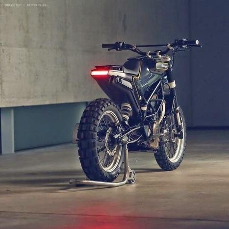 Husqvarna 401 concept - Grease n Gasoline | Muscle Bikes of America | Scoop.it