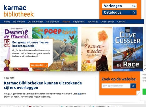 Pilot Karmac-bibliotheek Buren met drie maanden verlengd - Bericht - Bibliotheekblad | trends in bibliotheken | Scoop.it