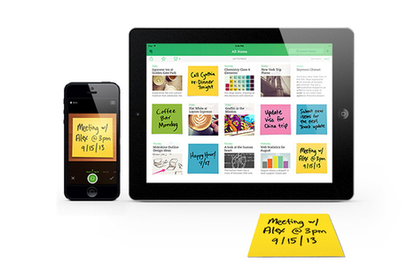 Evernote Gives Iconic Post-it® Notes a Digital Life | BYOD and AT | Scoop.it