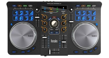 Review & Video: Hercules Universal DJ Controller | DJing | Scoop.it