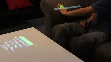 WorldKit projector turns everything into a touchscreen - Fox News | interaction design | Scoop.it