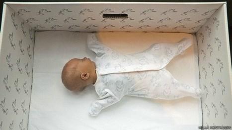 ¿Por qué los bebés de Finlandia duermen en cajas de cartón? | Cultura y arte en la miscelánea | Scoop.it