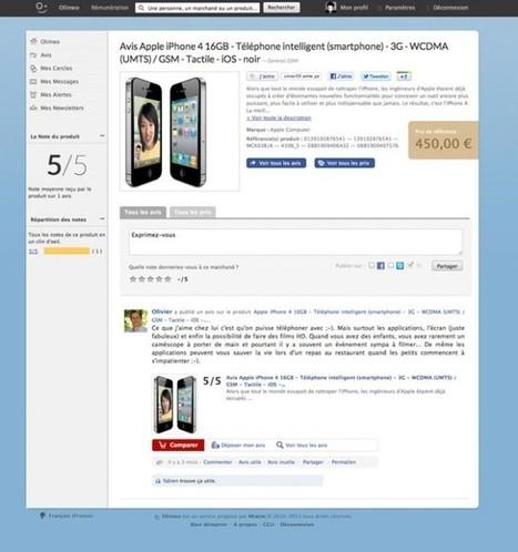 Olimeo, un réseau social d'avis de consommateurs | Superkadorseo | Scoop.it