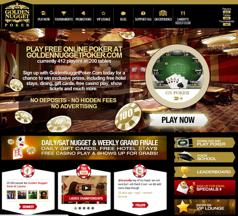 Bally launches its first play-money poker with Golden Nugget, Phil at G3 | Poker & eGaming News | Scoop.it