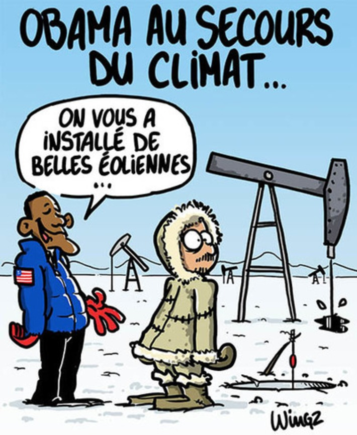 Obama lance un appel pour le climat | Baie d'humour | Scoop.it