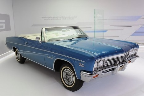 1966 Chevrolet Impala SS 427 Convertible reminds us of days long ... | 1969 chevy camaro | Scoop.it