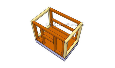 How to build a small chicken coop | Free Outdoor Plans - DIY Shed, Wooden Playhouse, Bbq, Woodworking Projects | Garden Plans | Scoop.it