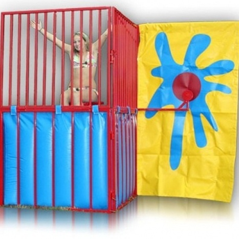 """Tanks"" For the Memories: Dunk Tanks Boost GPG (Giggles Per Gallon) at Children's Parties 