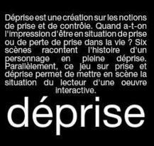 Déprise, de Serge Bouchardon - Conseil régional de Picardie   Littératures numériques en Bibliothèque ?   Scoop.it