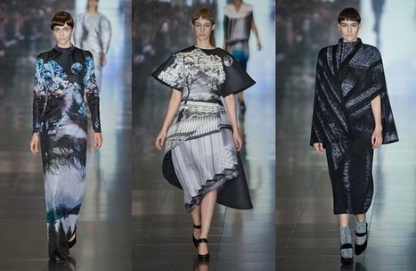 The Textile Federation and London Fashion Weekend's Design Competition - The Fashion Spot | Tendances | Scoop.it