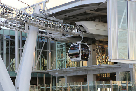 Olympic Transport: Trans-Thames cable car opens to public next week | Greenwich.co.uk | Fran Jurga: Equestrian Sport News | Scoop.it