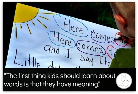 Meaningful Literacy for Early Readers | Not Just Cute | Cool School Ideas | Scoop.it