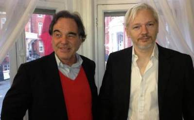 Oliver Stone se reunió con Julian Assange - Milenio.com | Julian Assange | Scoop.it