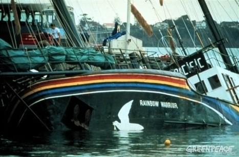 Se souvenir du Rainbow Warrior | # Uzac chien  indigné | Scoop.it