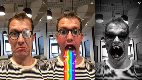 Snapchat's New Lenses Feature Is Utterly Horrifying | Réseaux sociaux - Les actus ! | Scoop.it