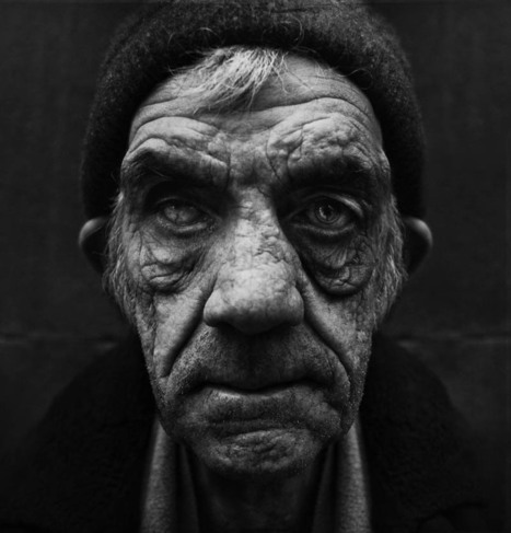 25 Incredibly Detailed Black And White Portraits of the Homeless by Lee Jeffries | Socialart | Scoop.it