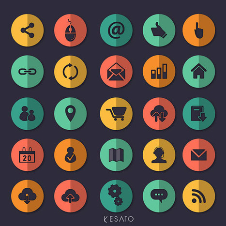 30 Amazing Free Icons Sets - March 2015 Edition | WebsiteDesign | Scoop.it