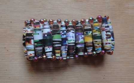 Recycled Paper Bead Bracelets and Necklaces | Jewelry Making & Beginning Stain Glass | Scoop.it
