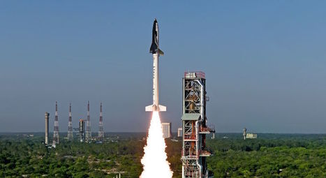 The Images From India's First Ever Space Shuttle Launch Are Astonishing | Outbreaks of Futurity | Scoop.it