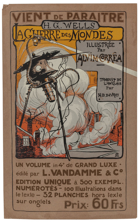 Henrique Alvim Correa - War Of The Worlds Illustrations, 1906 | Vintage and Retro Style | Scoop.it