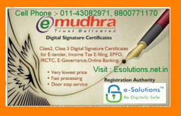 Why e-Solutions Uses USB Token for Digital Signature Certificate Storage   Digital signature certificates provider   Scoop.it