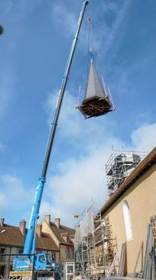 L'entreprise Béquet (Orne/61) a restauré un clocher du XIIe ! | L'Orne économique | Scoop.it