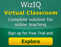 WizIQ Virtual Classroom Free for K12/College Educators | How teachers are using virtual classroom platforms for teaching students online | Scoop.it