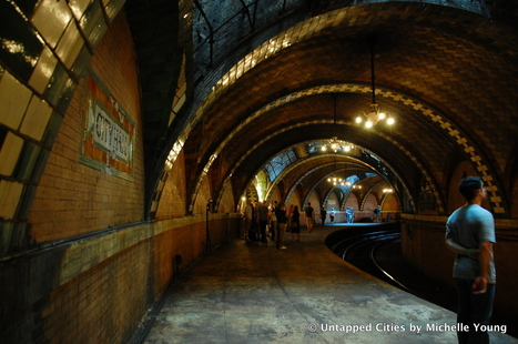 7 of NYC's Abandoned Subway Stations: City Hall, 18th St, Worth Street, Myrtle Ave, 91st St | Untapped Cities | Education | Scoop.it