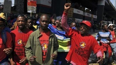 South Africa gold miners call strike - BBC News | Africa | Scoop.it