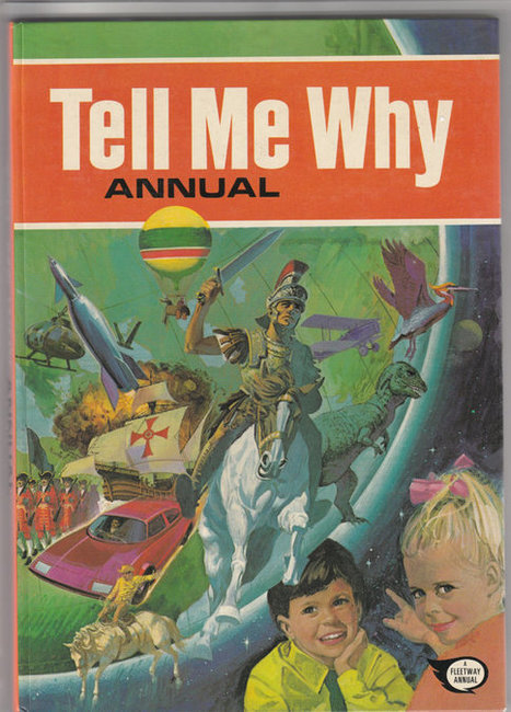 """1978 """"Tell Me Why"""" annual. For boys but also girls. Excellent book in excellent condition. 