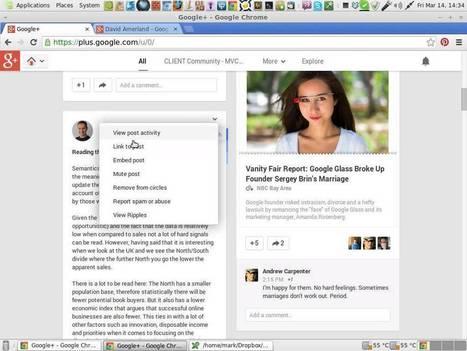 ▶ Google Plus Tips - Hidden features in posts. - YouTube | All Google Plus | Scoop.it