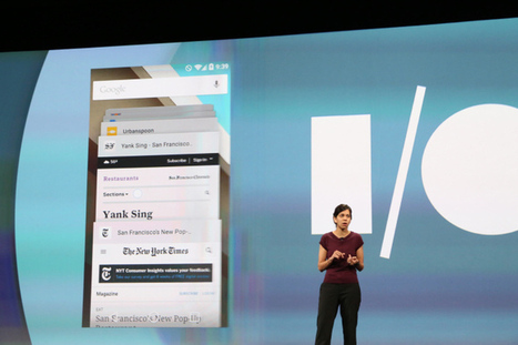 Google Blurs The Line Between Web And Native Apps On Android | Technology News | Scoop.it